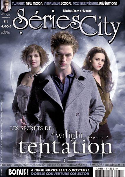 """Французский журнал Séries City о саге """"Сумерки"""". Май 2009"""