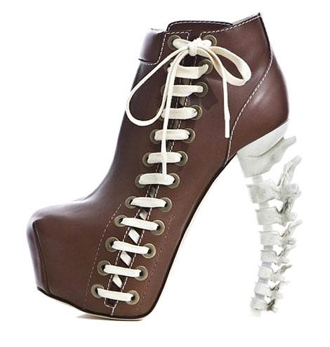 Туфли-скелеты от DSquared2