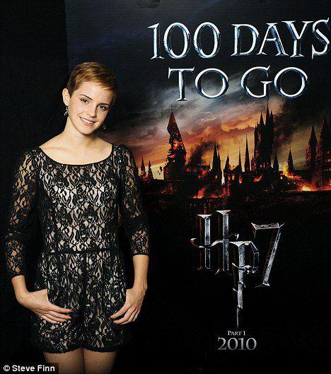 """Эмма Уотсон: 100 дней до премьеры """"Гарри Поттера"""""""