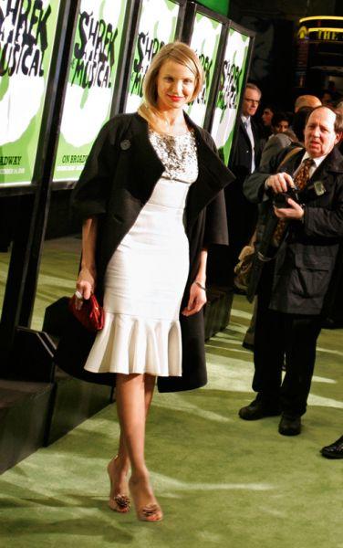"Кэмерон Диаз на премьере ""Шрека"" на Бродвее"