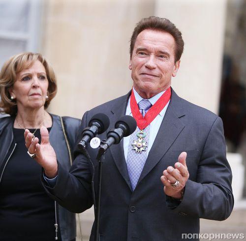 Арнольд Шварценеггер получил Орден Почетного легиона