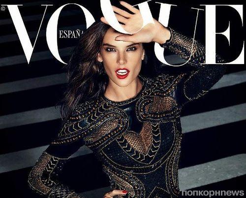 Алессандра Амбросио в журнале Vogue Испания. Ноябрь 2014