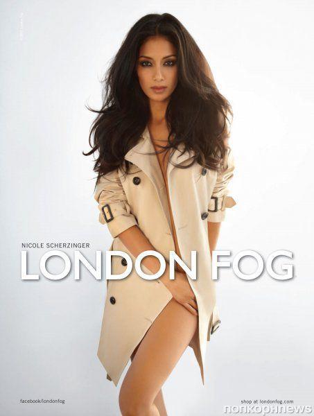 Первый взгляд на Николь Шерзингер в рекламной кампании  London Fog. Весна / лето 2012
