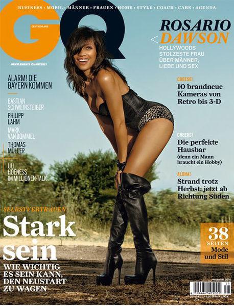 Розарио Доусон в журнале GQ Германия. Ноябрь 2010