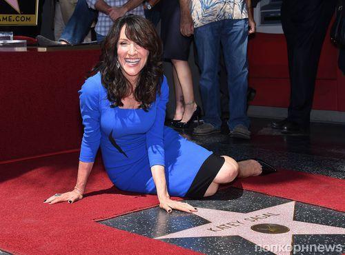 Кэти Сагал получила звезду на Аллее славы