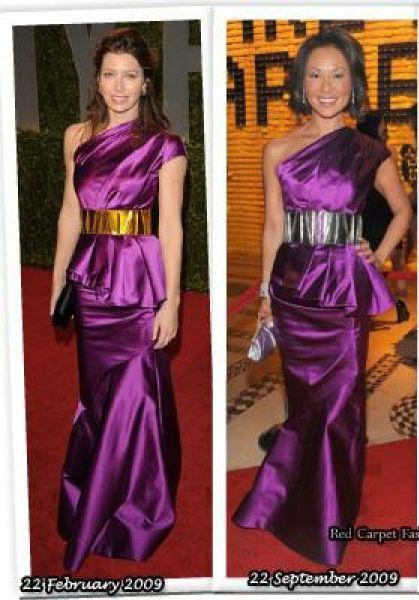 Fashion battle: Джессика Бил и Элайна Чо