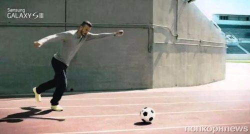 Дэвид Бэкхем в рекламе Samsung