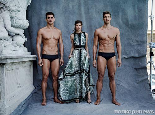 Американские спортсмены-олимпийцы снялись в фотосессии для Vogue
