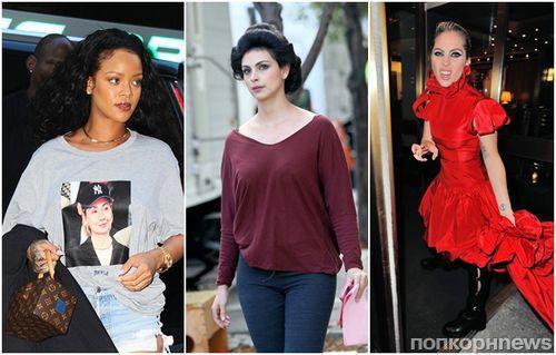 Стоп-кадр: Леди Гага, Дакота Джонсон, Рианна, Хилари Дафф и другие