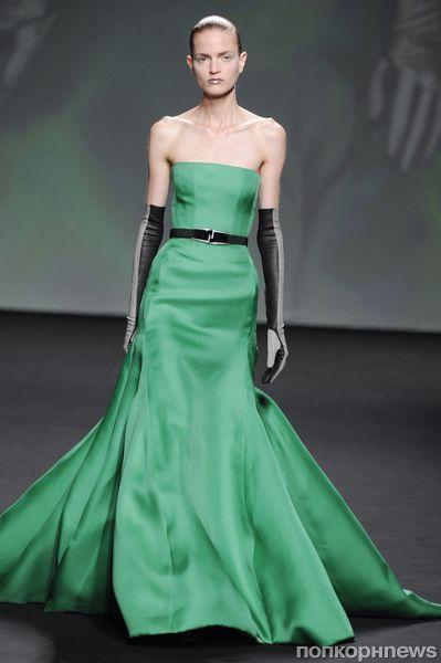 Модный показ Dior Haute Couture. Осень / зима 2013-2014