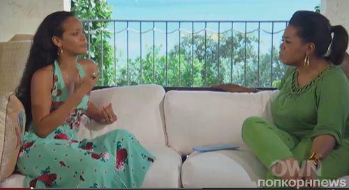 Опра Уинфри не осуждает Рианну за возвращение к Крису Брауну