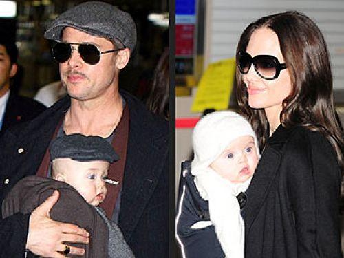 Как Джоли и Питт отметили день рождения своих детей?