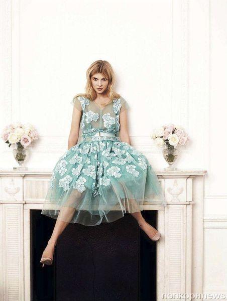 Клеманс Поэзи в журнале Glamour Великобритания. Февраль 2012
