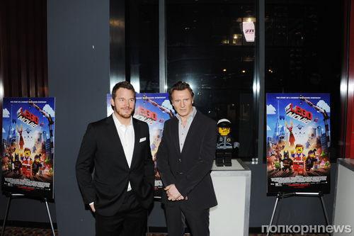 """Показ фильма """"Лего Фильм 3D"""" в Нью-Йорке"""