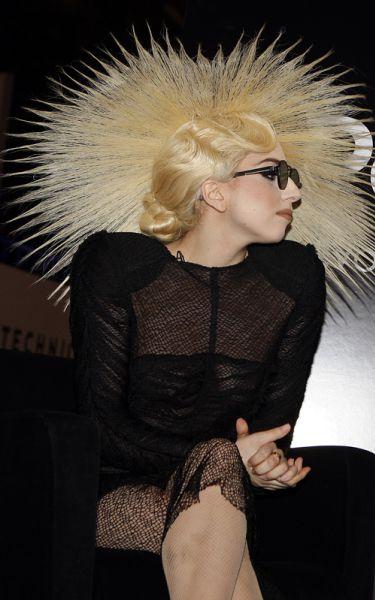 Lady GaGa на International Consumer Electronics Show
