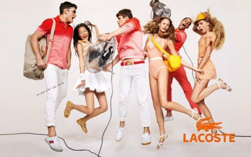 Весенне-летняя рекламная кампания 2009  Lacoste