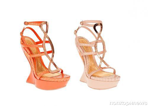 Коллекция обуви Alexander McQueen. Весна 2012