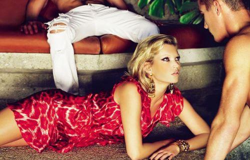 Кейт Мосс для Just Cavalli