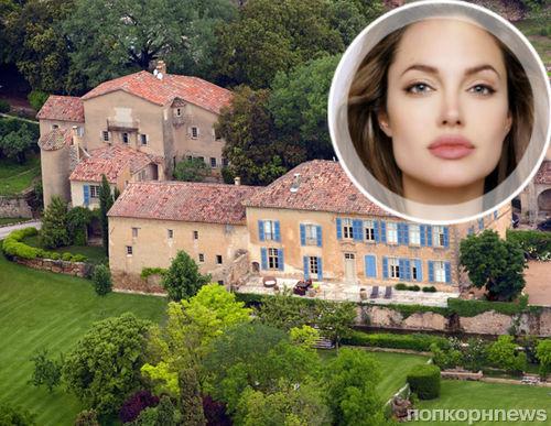 Анджелина Джоли продаст поместье во Франции ради политической карьеры