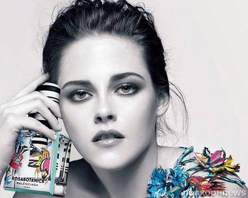 Кристен Стюарт в рекламе аромата Rosabotanica от Balenciaga