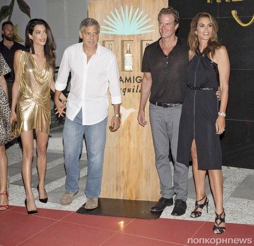 Синди Кроуфорд в восторге от стиля Амаль Клуни