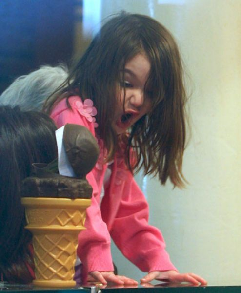 Сури Круз очень любит мороженое