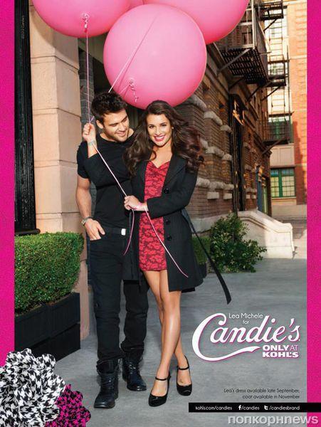 Лиа Мишель в рекламной кампании Candies
