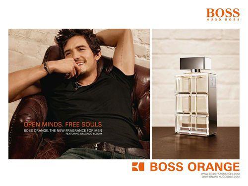Орландо Блум для рекламной кампании туалетной воды Hugo Boss Orange