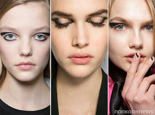 Модные тенденции макияжа осень-зима 2015-2016: фото