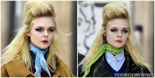 Эль Фаннинг дебютировала в качестве подиумной модели