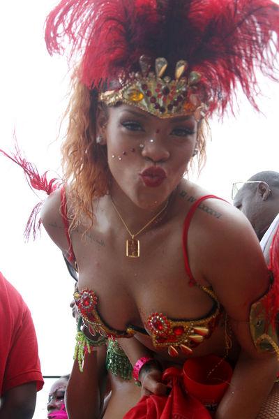 Рианна - королева карнавала
