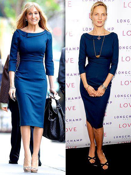 Fashion Battle: Сара Джессика Паркер и Ума Турман