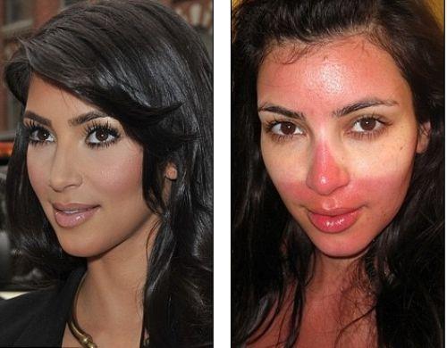 Ким Кардашян: чудеса make-up