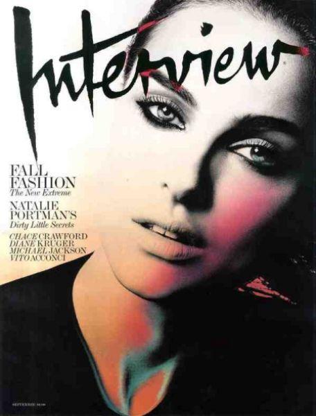 Натали Портман в журнале Interview. Сентябрь 2009