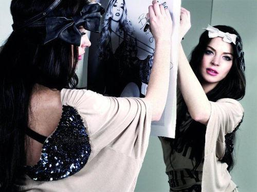 Фотосессия Линдсей Лохан для модного дома Fornarina
