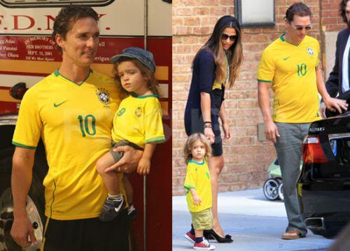 Леви МакКонахи болеет за Бразилию