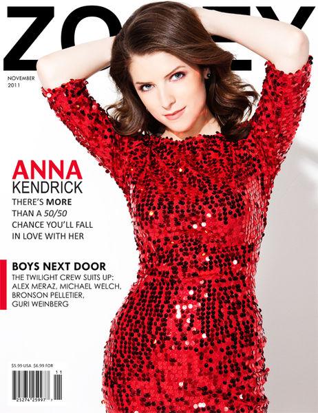 Анна Кендрик в журнале Zooey. Ноябрь 2011