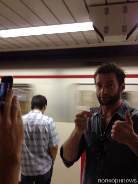 Хью Джекман в Токио