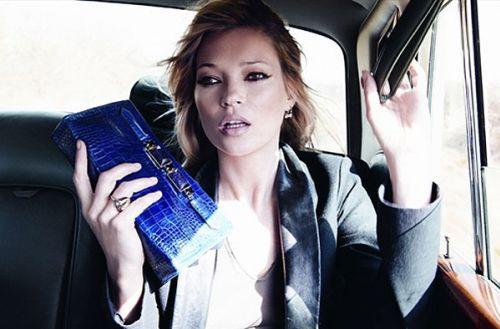Кейт Мосс в новой рекламе Longchamp