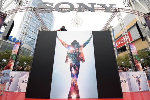 Премьера фильма «Майкл Джексон: вот и все» в Лос-Анджелесе