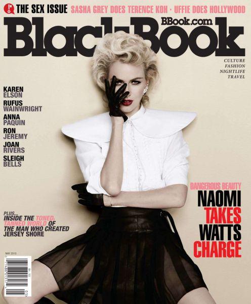 Наоми Уоттс в журнале Blackbook. Май 2010