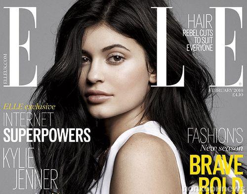 Кайли Дженнер в журнале Elle: о дружбе с Джастином Бибером и отце-трансгендере