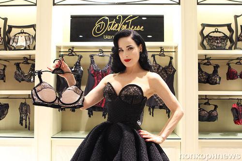 Дита фон Тиз представила новую коллекцию белья
