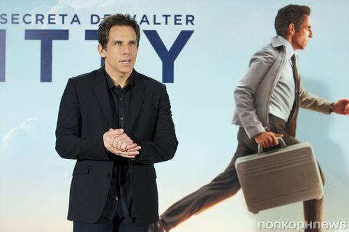 """Бен Стиллер на премьере """"Невероятная жизнь Уолтера Митти"""" в Мадриде"""