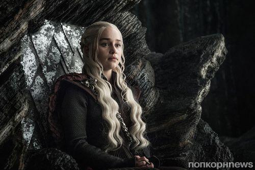 Для съемок финального сезона «Игры престолов» Эмилия Кларк стала блондинкой