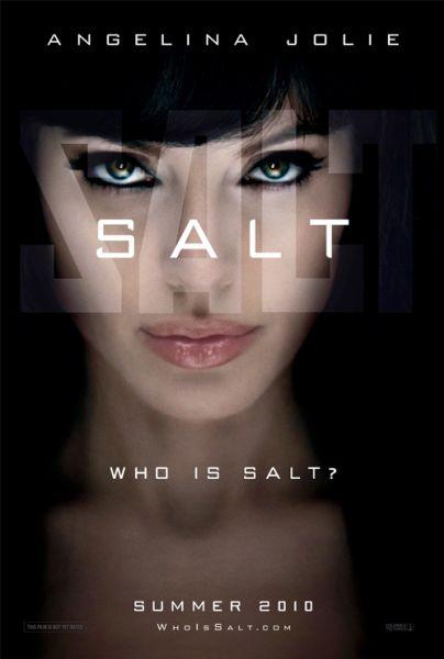 Тизер-постер фильма с Анджелиной Джоли «Солт»