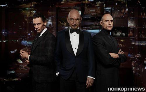 Том Хиддлстон, Бен Кингсли и Марк Стронг в рекламе Jaguar