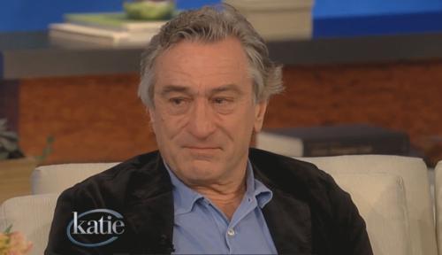 Роберт Де Ниро не смог сдержать слез на интервью