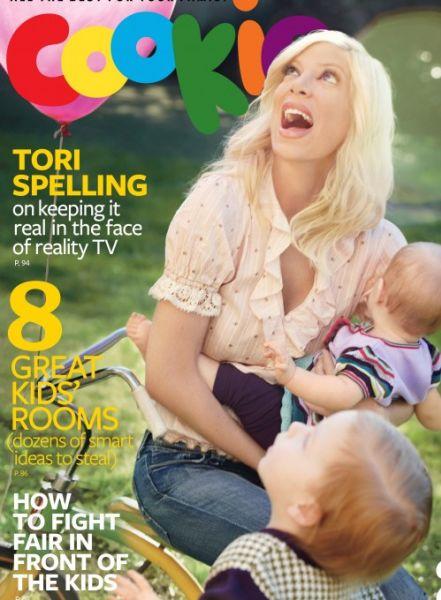 Тори Спеллинг в журнале Cookie. Июнь 2009