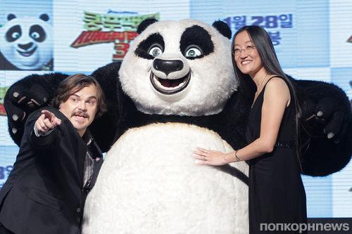 Фото: праздник панд на премьере «Кунг-фу Панда 3» в Корее